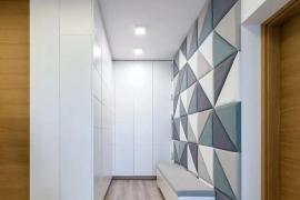 济南装修公司大业美家分享为什么越来越多的人选择「隐藏式」入户门厅?
