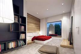 济南家居装修:都市女白领最爱的卧室设计!