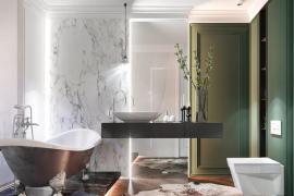 一个漂亮洗漱台,如何搭配一个完美的家?