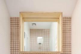 济南大业美家分享设计巧妙的粉红色卫浴间,治愈你的少女心