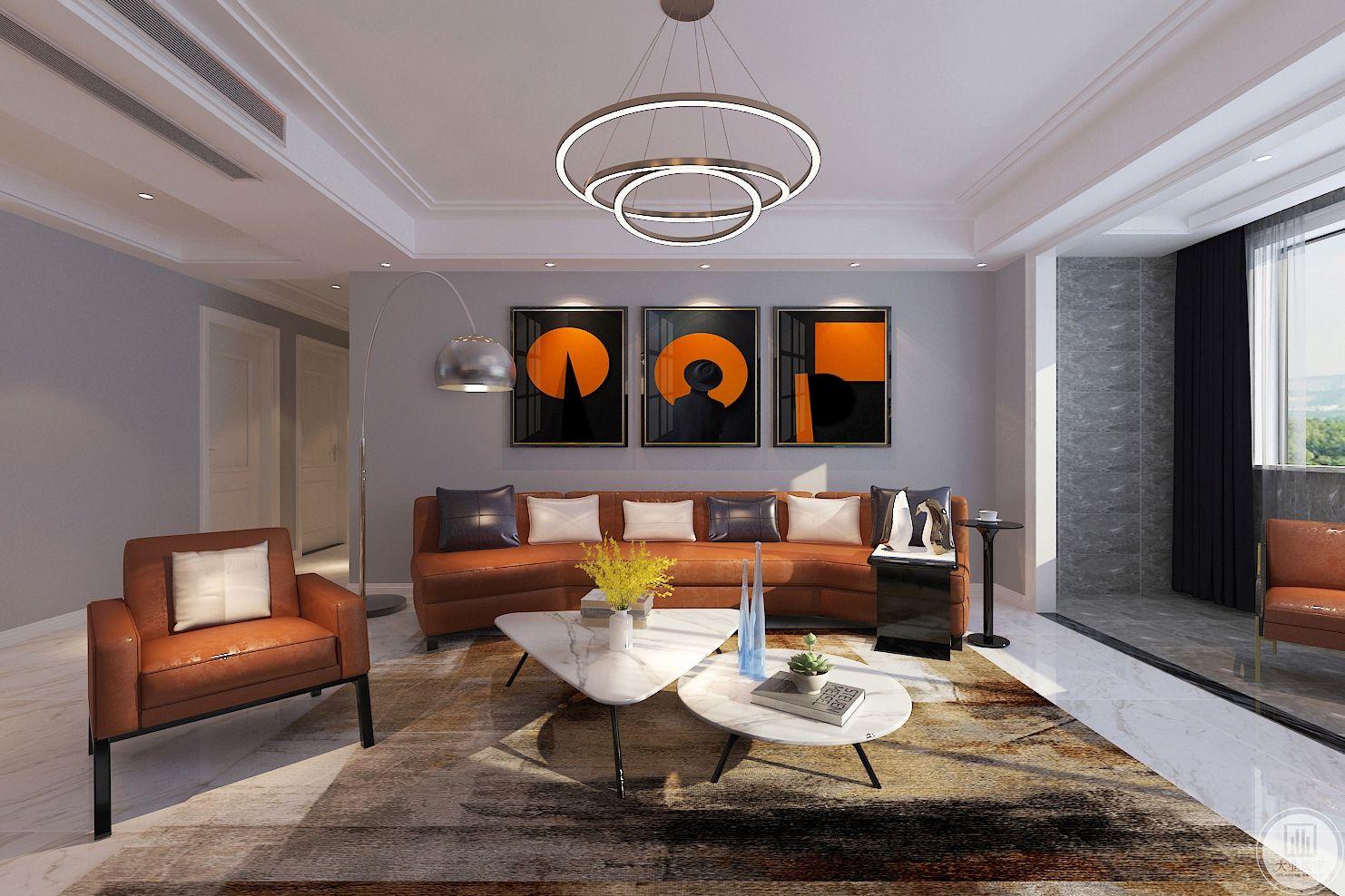 客厅装修效果图:在最平凡中享受的却是最不平凡,当真正理解的时候,也许才会体验真正的快乐,因为这是一种生活态度。
