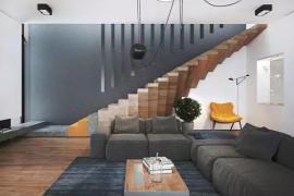 济南别墅装修:楼梯的功能不只是过渡!