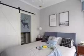 济南大业美家分享为什么想要北欧风格卧室,让你清凉一夏?