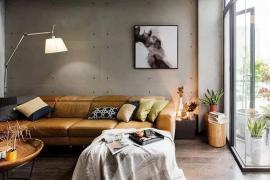 济南大业美家装饰分享一面水泥墙,胜过精装房
