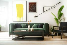 济南大业美家分享客厅挂画方式,不懂千万别瞎挂!