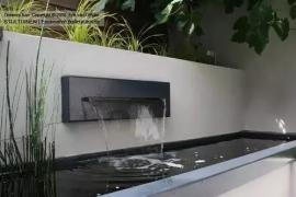 济南别墅装修:别墅庭院水景设计,太美了!