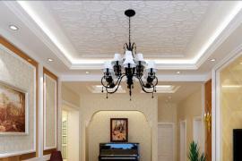 济南新房装修:令人耳目一新的天花板装饰