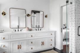 2019浴室设计趋势,流行色与舒适感并举!