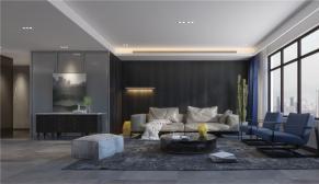 财富中心178平米现代风格装修效果图