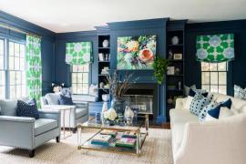 快乐的夏日限定,7对最美的窗帘色彩搭配CP!