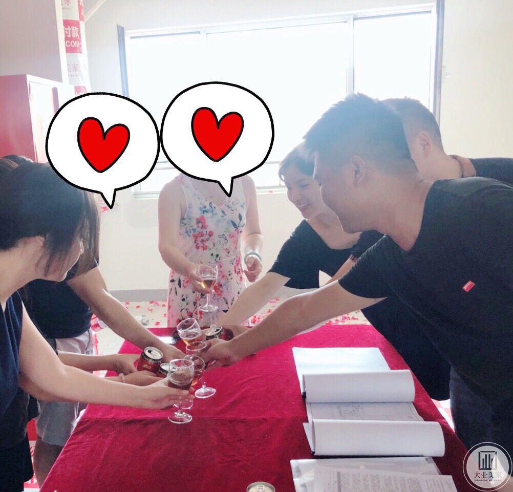 热烈庆祝东城逸家刘老师开工大吉