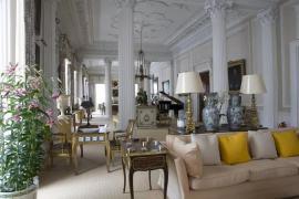 高级灰与古典风风格的软装搭配设计,勾勒现代人的宫廷式生活!