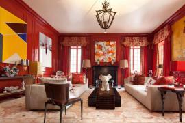 中国红的现代空间装饰搭配,拥抱舞台与梦境!