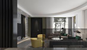 奥龙观邸470平米现代主义装修效果图