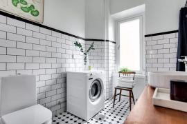 济南卫生间装修:洗衣机放厨房正流行,你的还在卫生间呢?