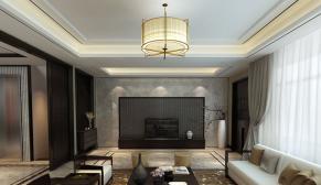 中海铂宫480平米新亚洲风格装修效果图