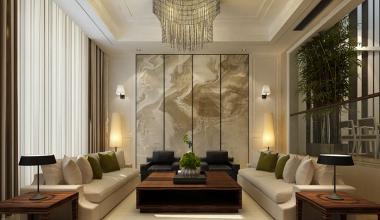中海铂宫380平米现代风格装修效果图