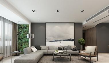 名悦山庄170平米现代台式风格装修效果图