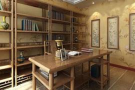 济南装修公司书房壁纸的选择技巧及注意事项