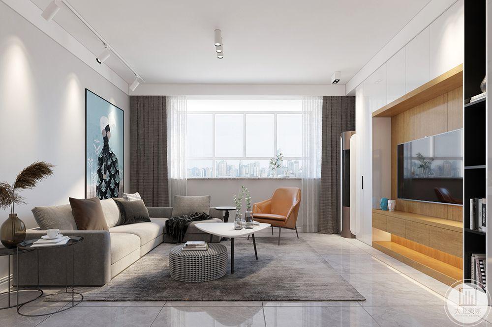 墙面部分,都是方形做线条的延展,铺满整个空间,却又像中空部分给人以休憩的空间。