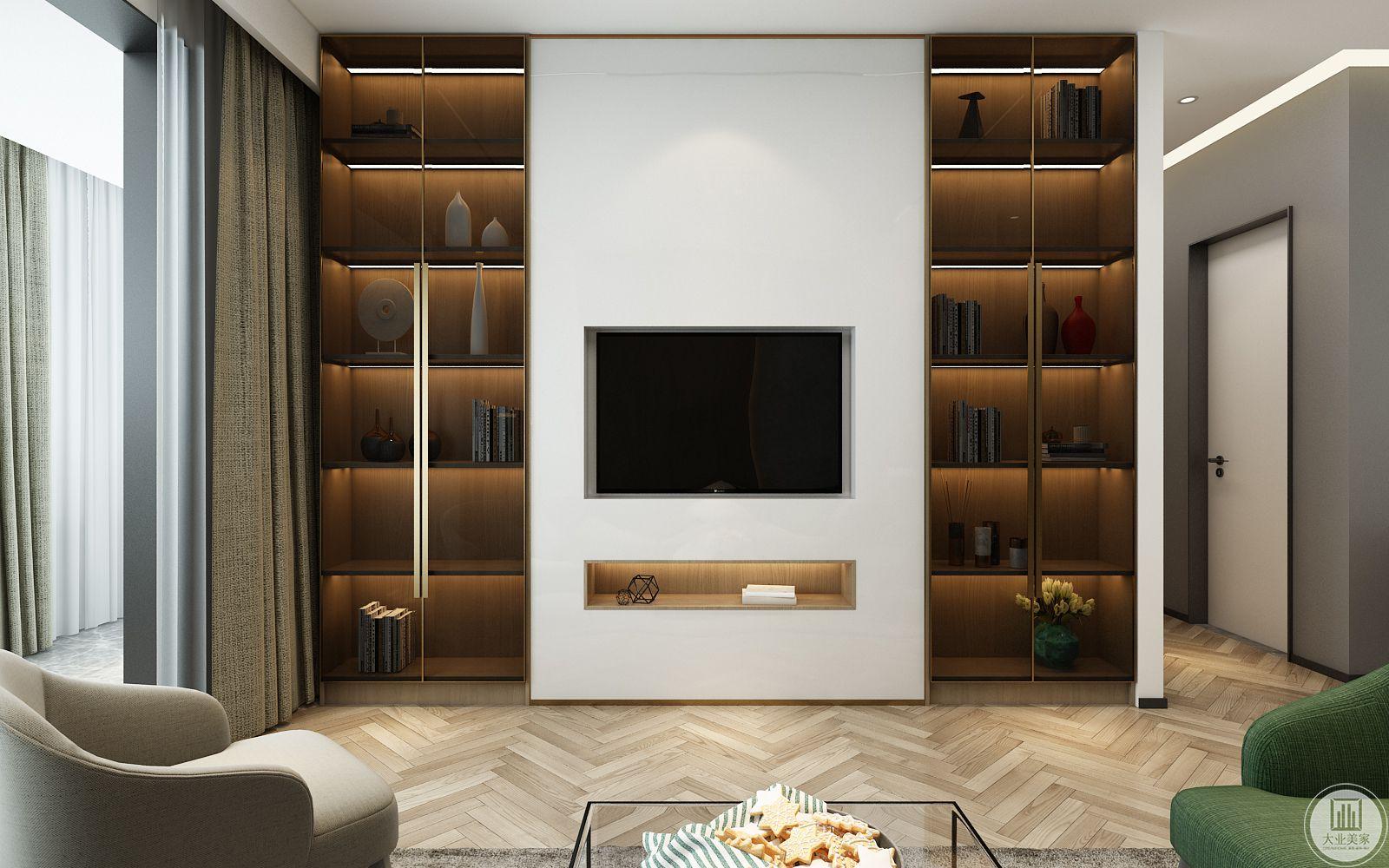 客厅-影视墙