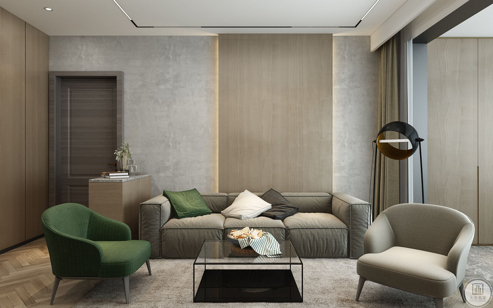 客厅-沙发墙