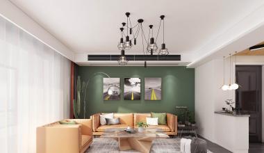 鼎秀家园160平现代简约装修效果图