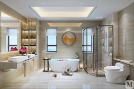 济南装修公司浴缸究竟装在淋浴房还是分开装