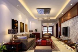 「济南装修公司」客厅背景墙色彩搭配