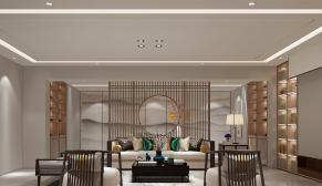 奥龙观邸320平新中式装修效果图