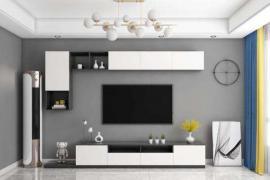 「济南别墅装修」客厅如何选择电视柜