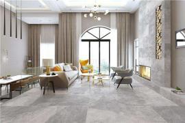 济南室内装修-客厅地砖颜色的选择