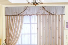 济南装修公司前十名|5种不同材质的窗帘