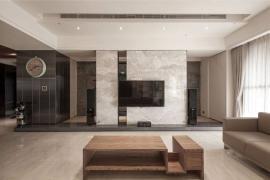 房屋装修流程|电视背景墙适合什么装修材质