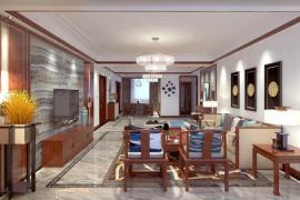 济南旧房翻新 老人房玄关、客厅、餐厅改造要点