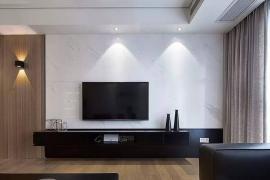 客厅装饰前,必须考虑清楚电视背景墙4大设计元素!