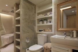 上文介绍了卫生间防水技巧,那么卫生间装修还要注意什么?