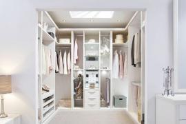 济南室内装修,衣帽间装修材料需要注意什么?