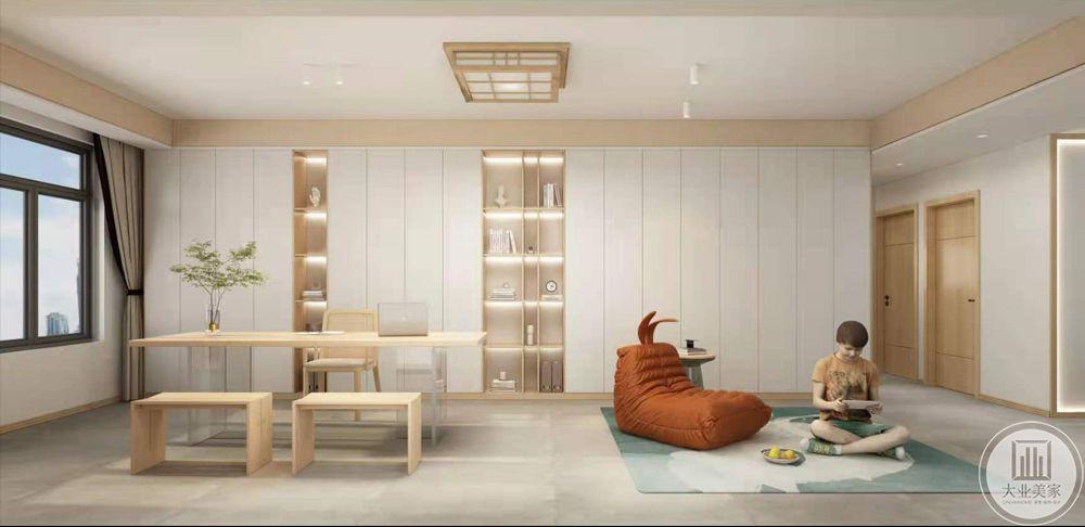 海德堡145平原木装修设计案例