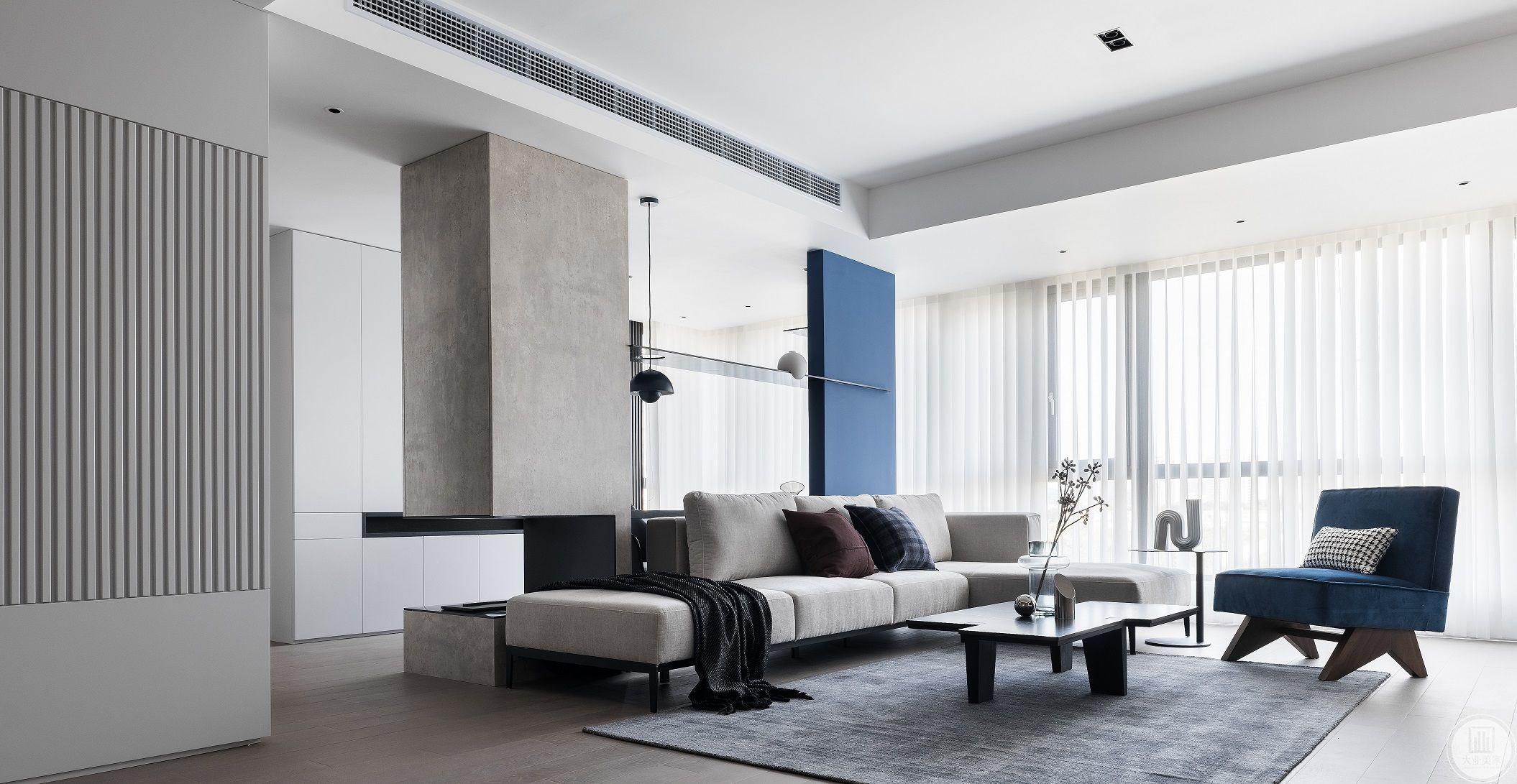 凤凰家园190平现代轻奢装修设计案例